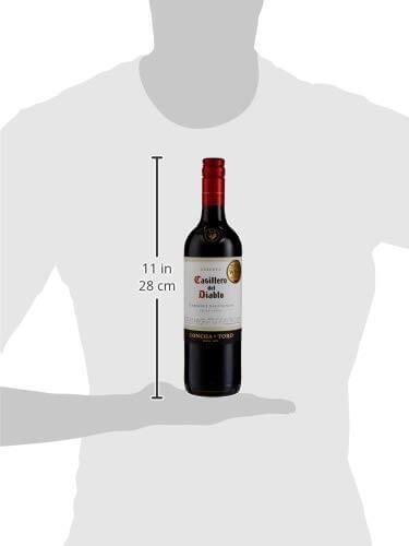 Bottle Size for Casillero del Diablo Cabernet Sauvignon Wine 75 cl