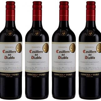 Case of Casillero del Diablo Cabernet Sauvignon Wine 6 x 75 cl bottles