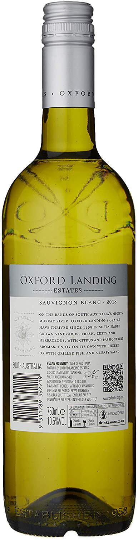 Back of Oxford Landing Estates Sauvignon Blanc 75 cl Bottle